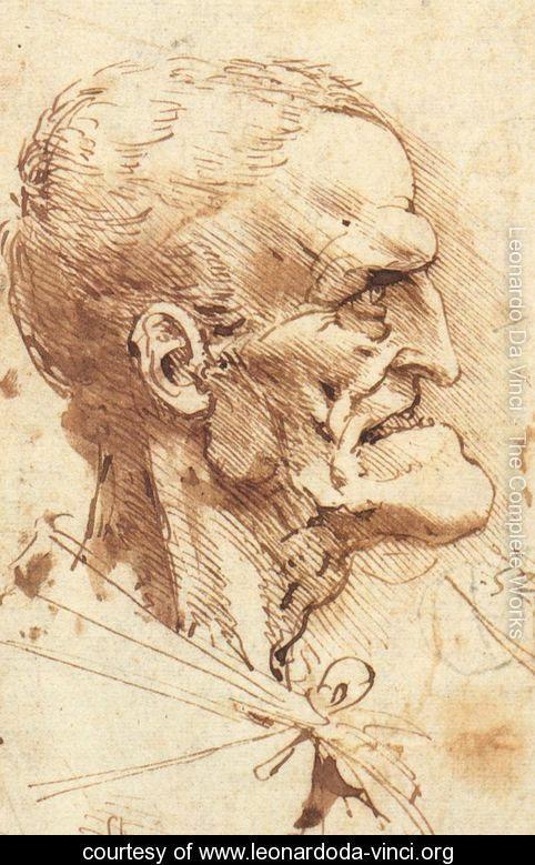 Las caricaturas de Leonardo Da Vinci