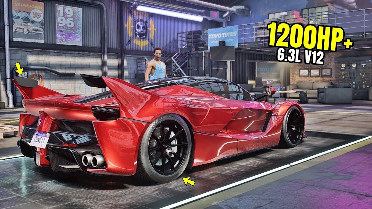 Need For Speed Heat Gameplay 1200hp Ferrari Laferrari Customization Ferrari Laferrari Ferrari Need For Speed