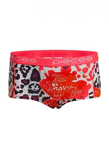 SHORTS (UNDERWEAR) DAMES LOGO LADY BOXERS MAY wit Pieces