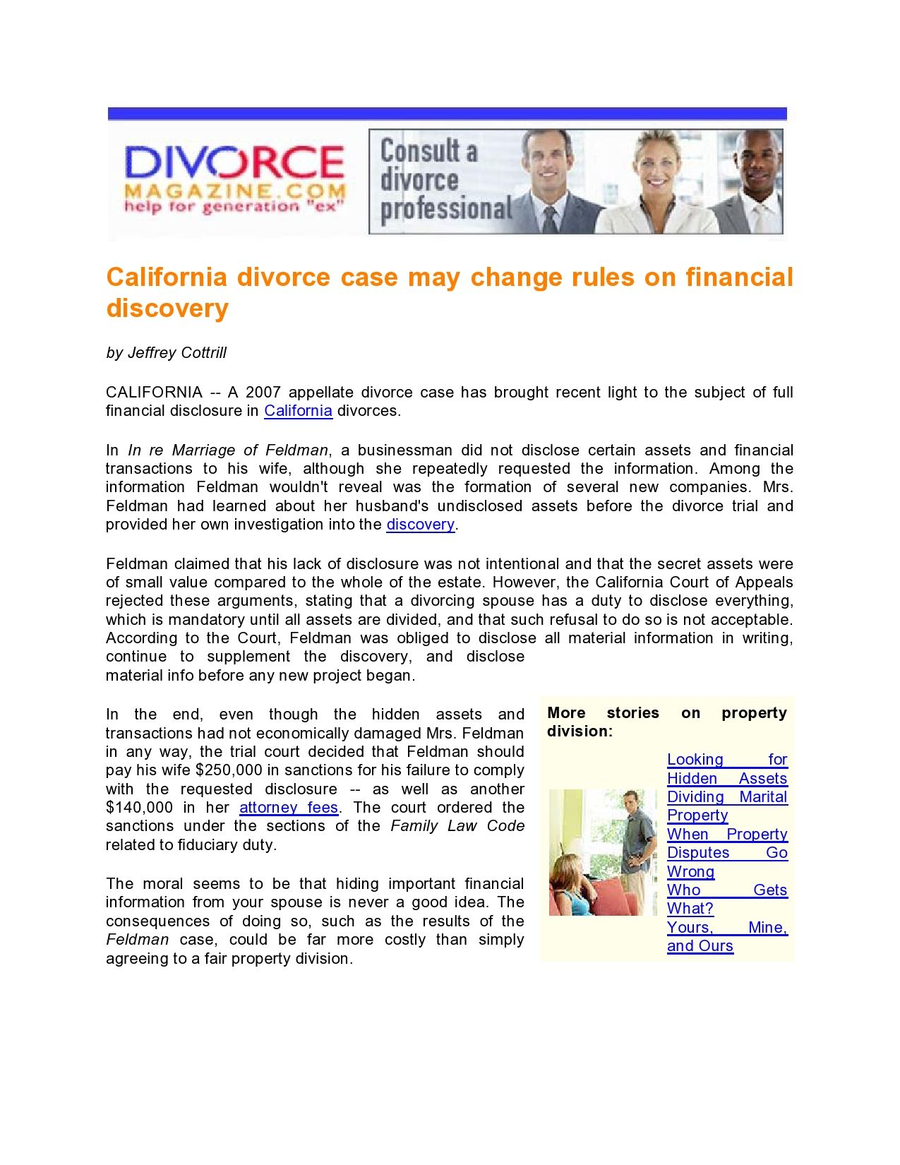 california self help law divorce