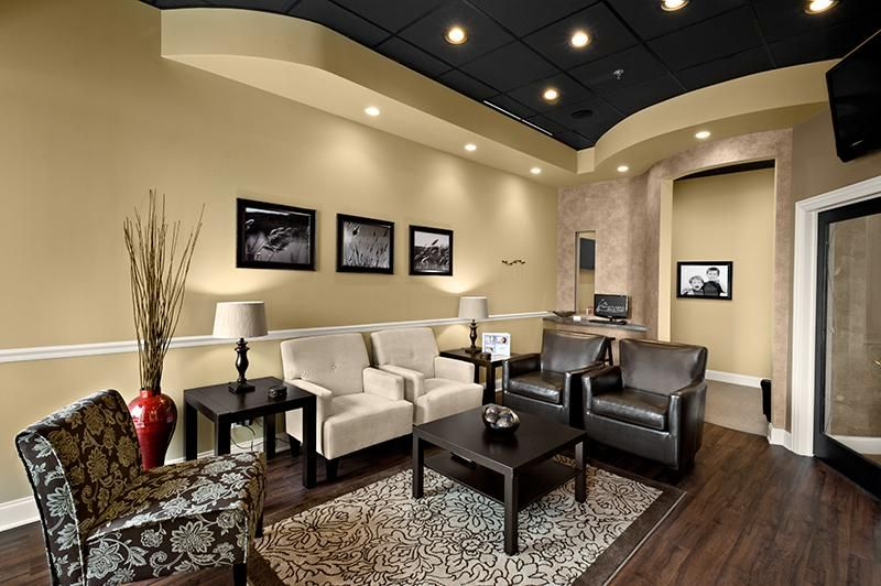 Dental Office Build Out New Lenox Medical Office Decor Waiting