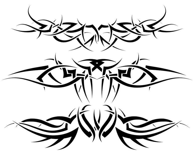 Tribal Tattoo Designs For Men - Mens Tribal Tattoos ...
