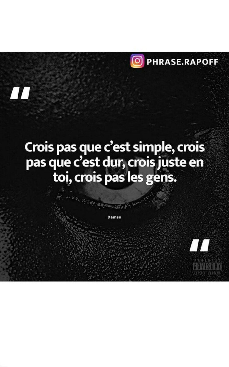 Dieu Ne Ment Jamais Paroles : jamais, paroles, Idées, Damso, Damso,, Citations, Rappeur