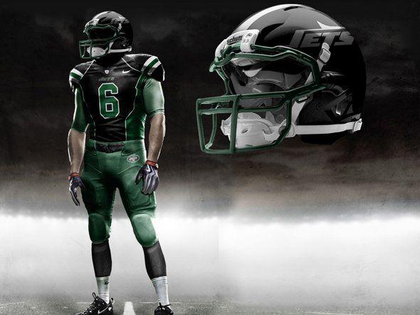 online retailer 9c8c7 f3839 New York Jets Concept Uniform | The Penalty Flag | Nfl ...
