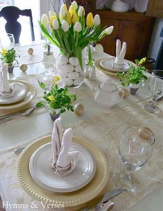 29 Elegant Easter Table Settings Sharon Mrs Hines Classs Clipboard On Hometalk