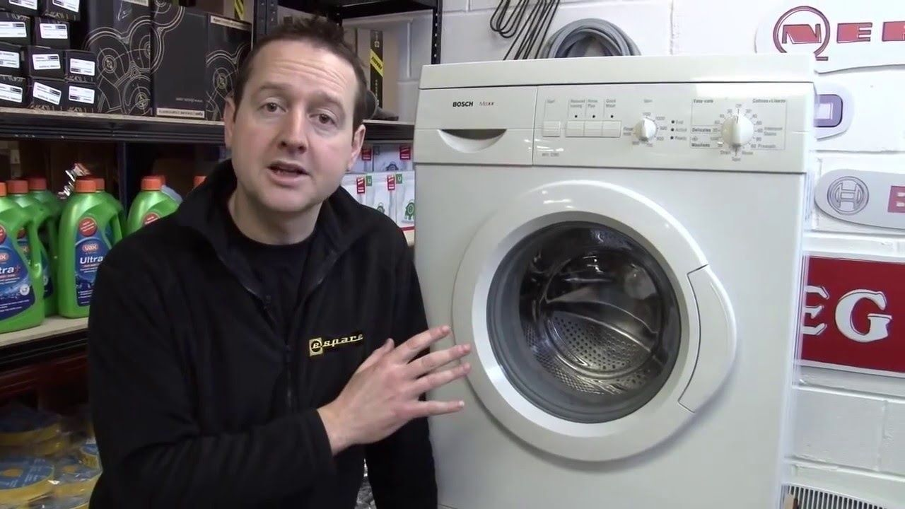 How To Replace A Washing Machine Door Seal On A Bosch Washer Door Seals Washing Machine Service Bosch Washer