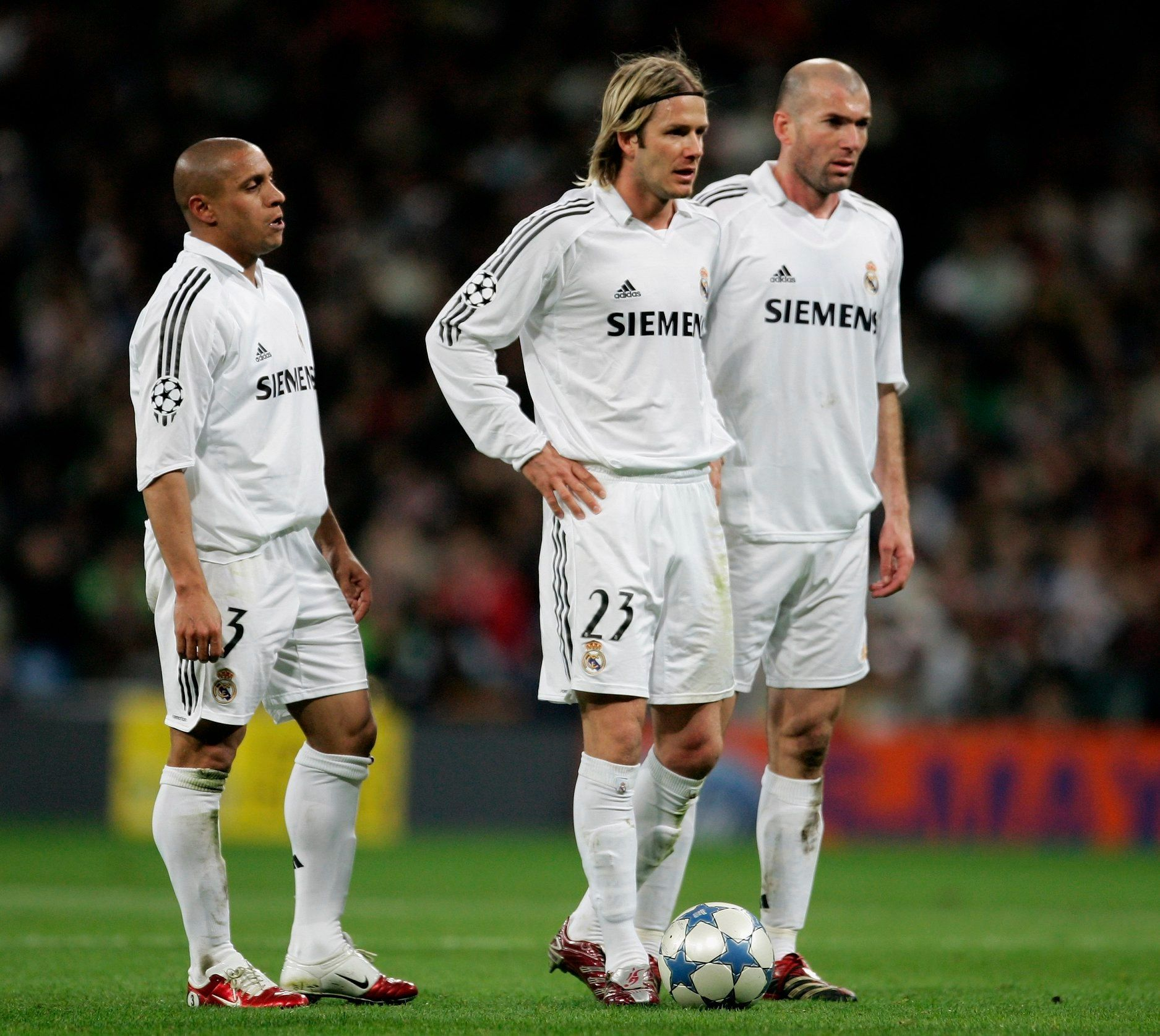 Free Kick Options Which Real Madrid C F Galactico Would You Choose Real Madrid Football Club Real Madrid Football Madrid