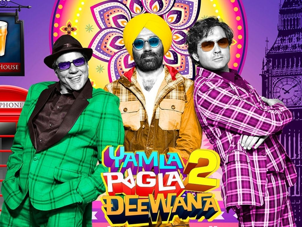 Yamla Pagla Deewana 2 Movie Poster Bollywood Posters Songs