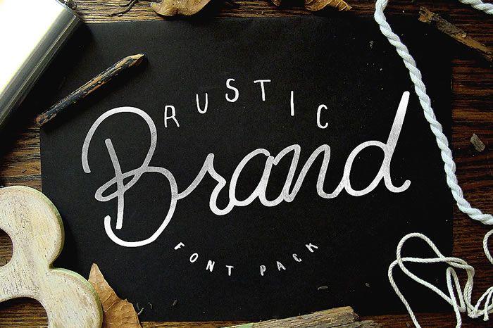 Download Rustic Brand (Font) by Noe Araujo · Creative Fabrica ...