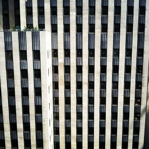 City's pattern, as viewed from our 11th Floor