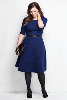 Plus Size Dresses for Women | Lands\' End | Style | Dresses, Fashion ...