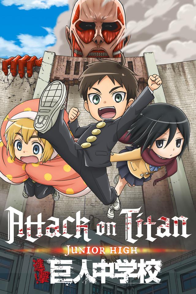 Attack On Titan Junior High Ver En Crunchyroll Attack On Titan Junior High Attack On Titan Anime