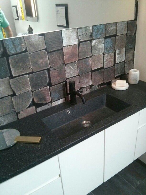 Smalle wastafel Kvik   badkamer   Pinterest   Bathroom layout