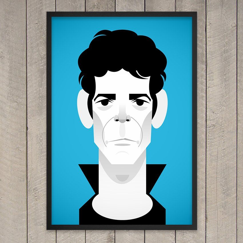 Lou Reed Print - $50