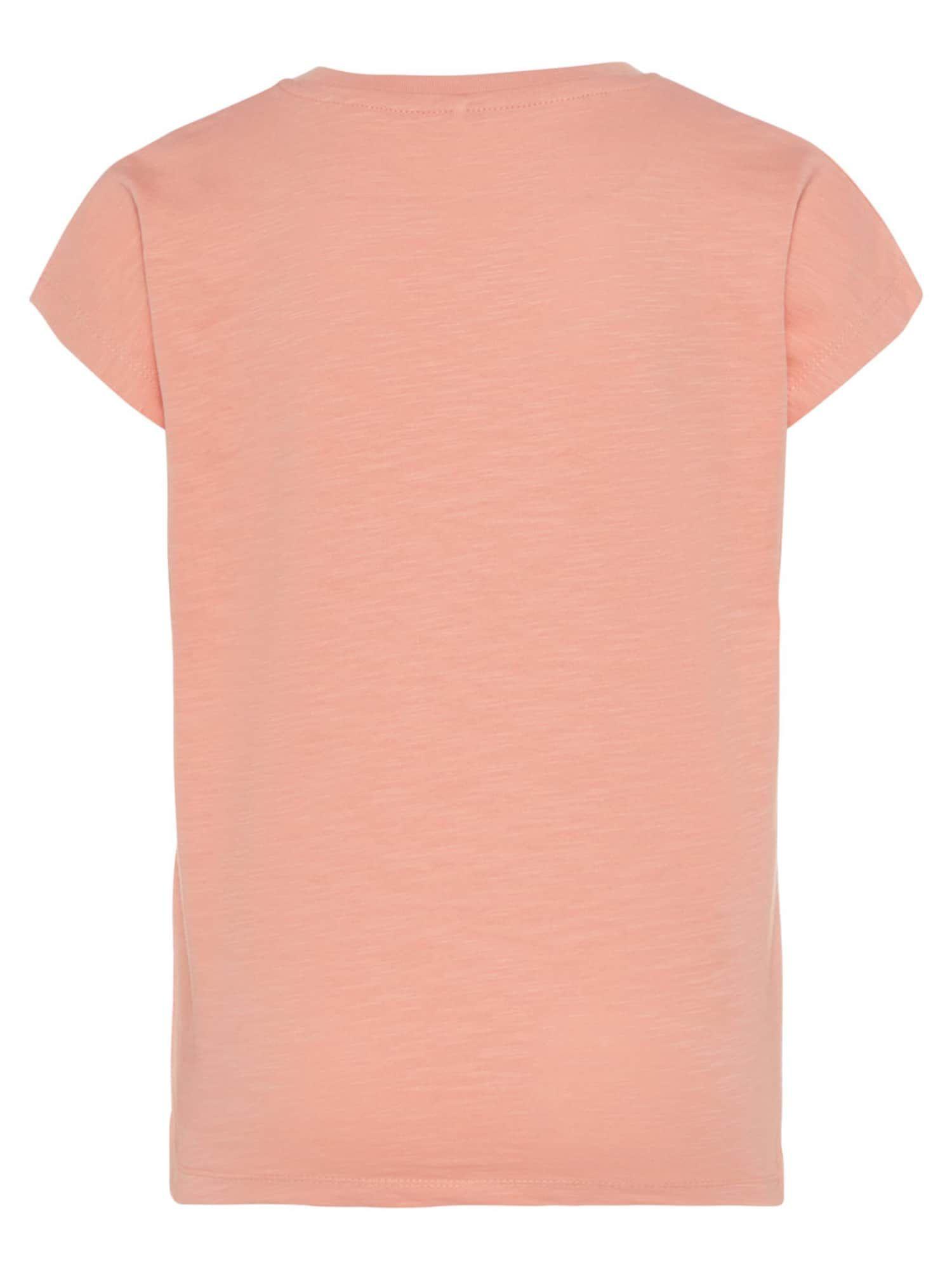 Name It Glitzerprint T Shirt Madchen Altrosa Grosse 122 128 Altrosa Shirts Und Madchen
