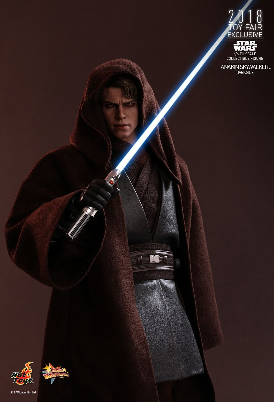 Hot Toys Star Wars Episode Iii Revenge Of The Sith Anakin Skywalker Dark Side 1 6th Scale Coll Star Wars Collection Star Wars Princess Star Wars Awesome