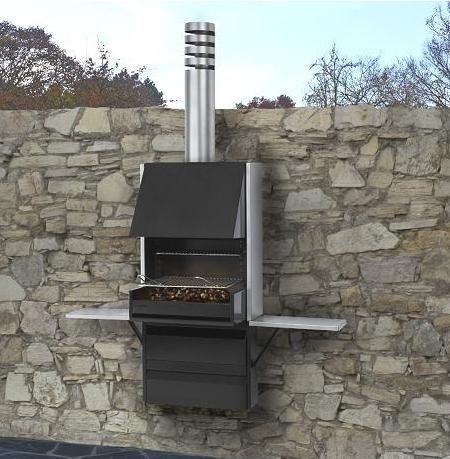 Decorar la terraza zona de parrillas outdoor kitchen grill grill design y barbecue design - La casa del barbecue ...