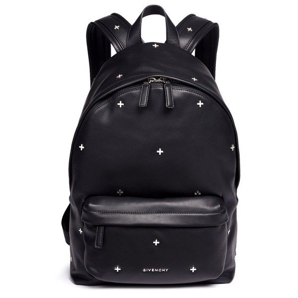 51c9b80af4f4 Givenchy Small cross stud leather backpack ( 2