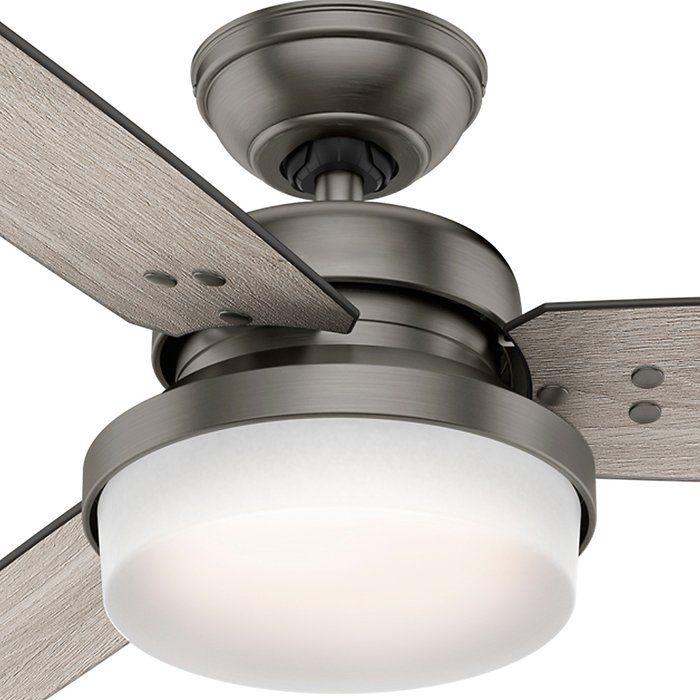 """Hunter Fan 60"""" Sentinel 3 Blade Ceiling Fan with Remote ..."""