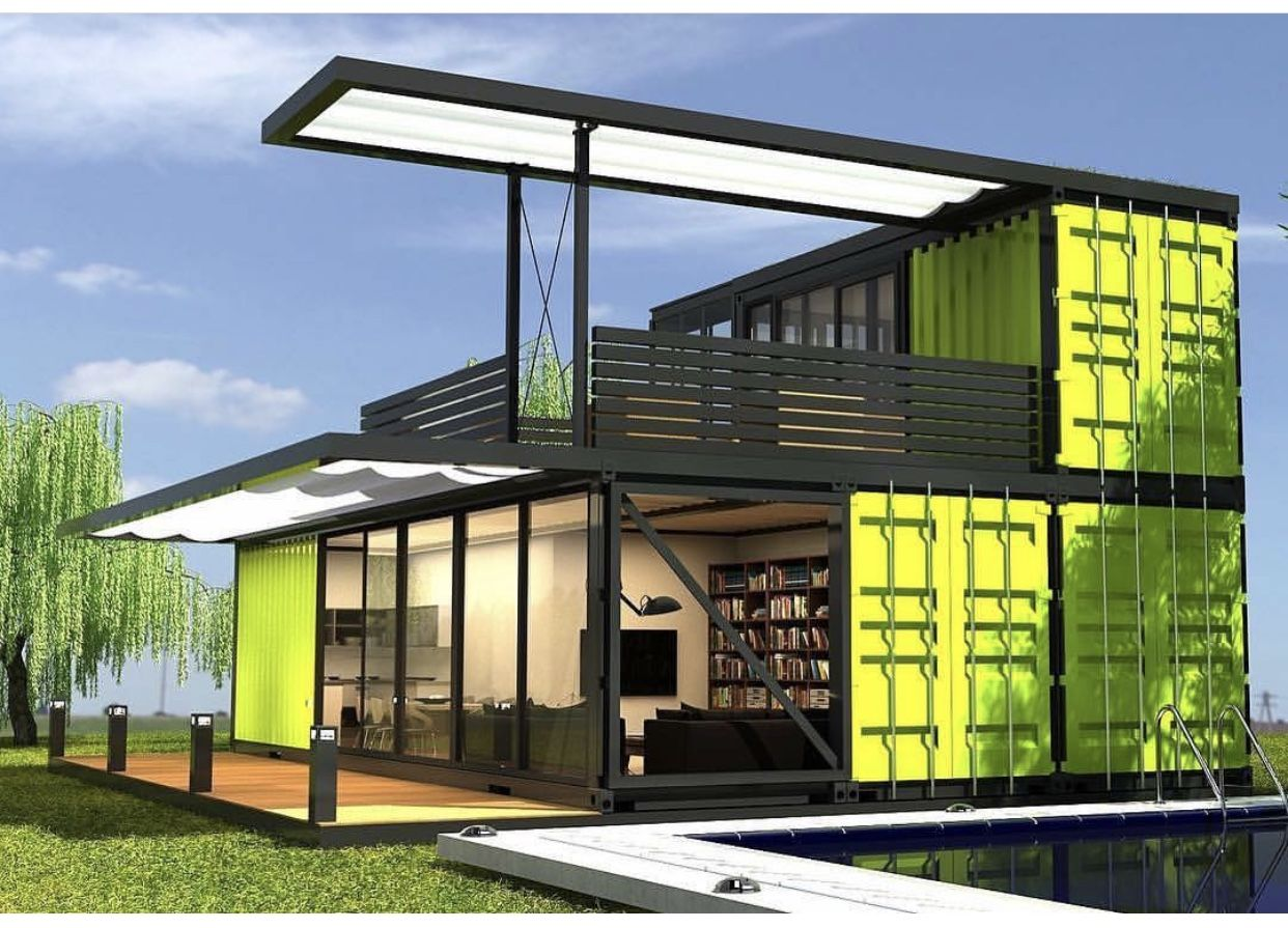 it is amazing container house maison container pinterest container wohnung container. Black Bedroom Furniture Sets. Home Design Ideas