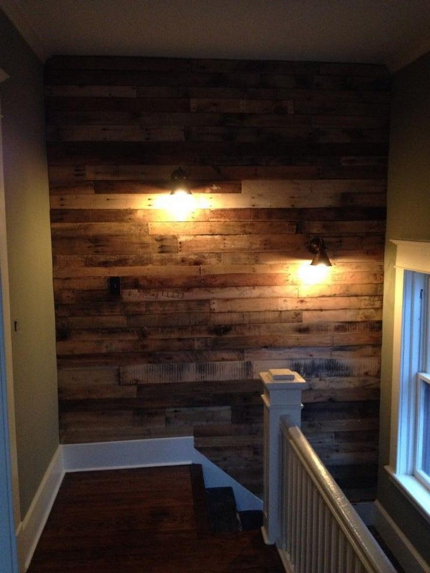 Amazing Wooden Pallet Wall Remodeling Ideas (With images