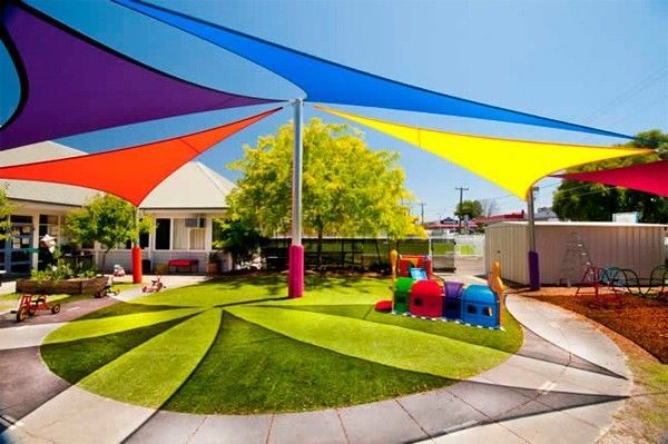 New triangle outdoor sun sail shade canopy cover - blue : triangle canopy outdoor - memphite.com