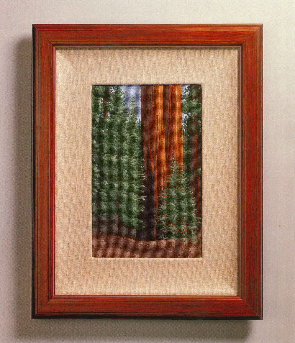 SEQUOIA BIG TREES  Counted Cross-Stitch Chart