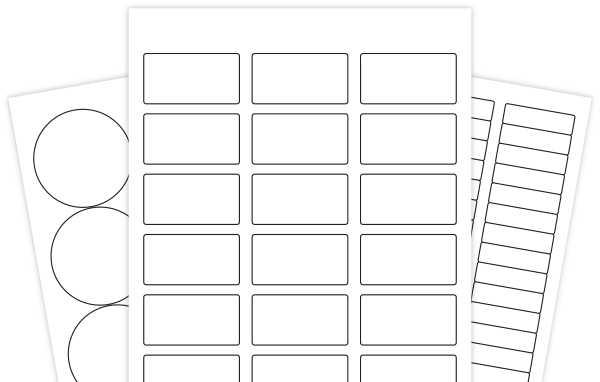 Hundreds Of Blank Label Templates In Pdf Format So They Can Be Used In Sil Studio Label Templates Labels Printables Free Templates Address Label Template
