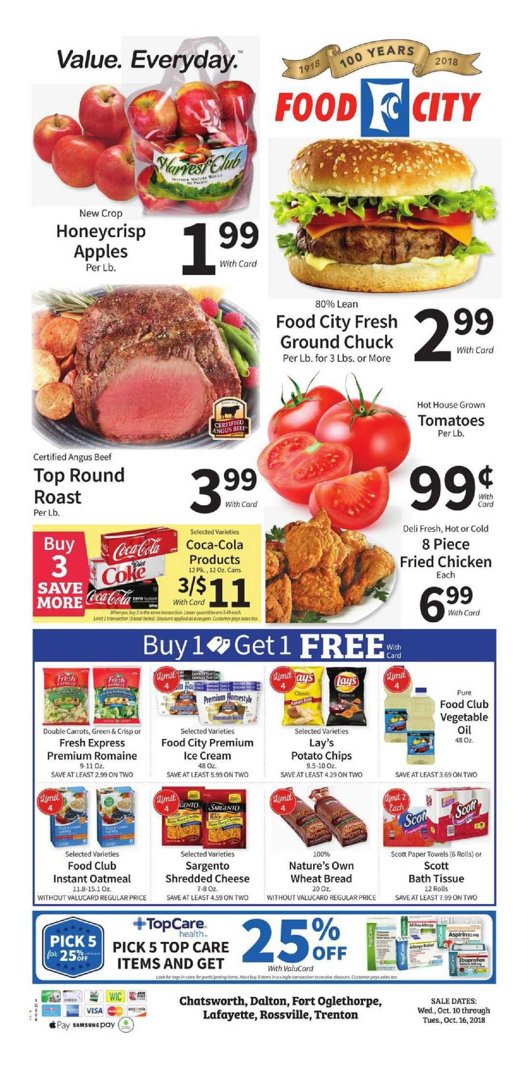 Food City Weekly Ad Flyer December 26 2018 January 1 2019