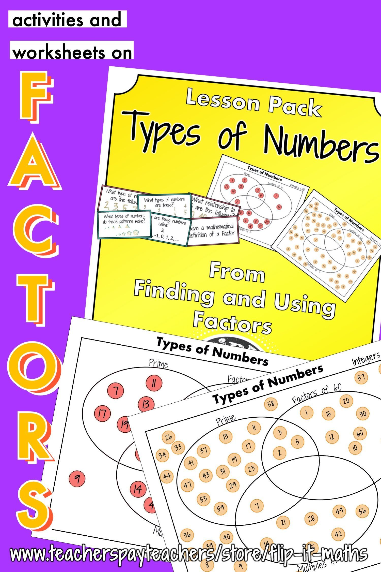 This Types Of Numbers Lesson Pack Gets Your Students Ready