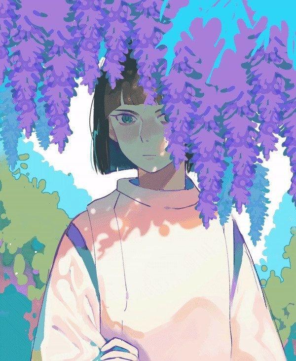 haku spirited anime