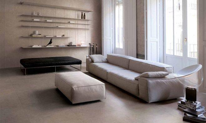 carrelage en gr s c rame teint dans la masse de coloris greige aspect b ton r sin carrelage. Black Bedroom Furniture Sets. Home Design Ideas
