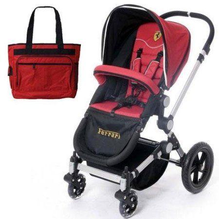 Amazon Com Bebek Bezi çantası Ile Eşleşen Ferrari Frb10100 Bee Bop Arabası Pram Bebek Stroller Baby Strollers Best Baby Strollers