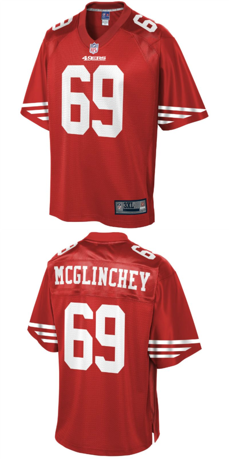 best loved 26f39 5e080 UP TO 70% OFF. Mike McGlinchey San Francisco 49ers NFL Pro ...