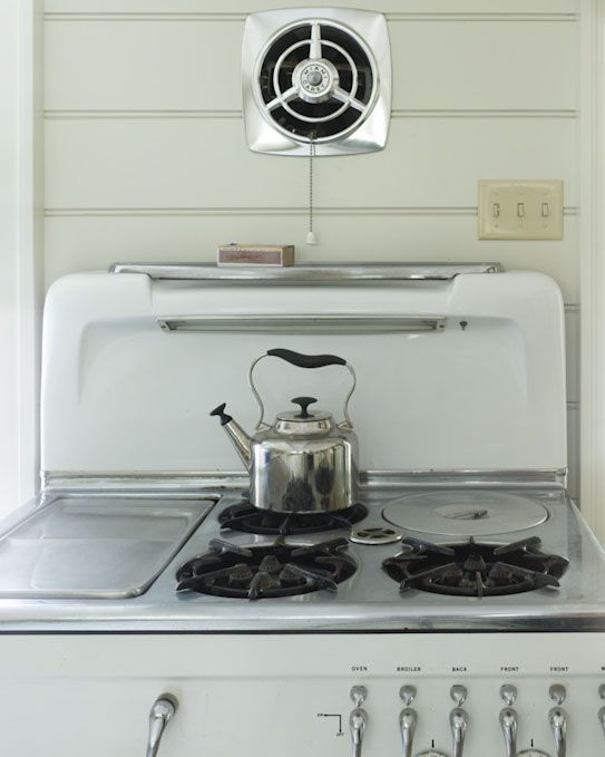 Vintage Stove Used To Have A Stove With A Recessed Stock Pot