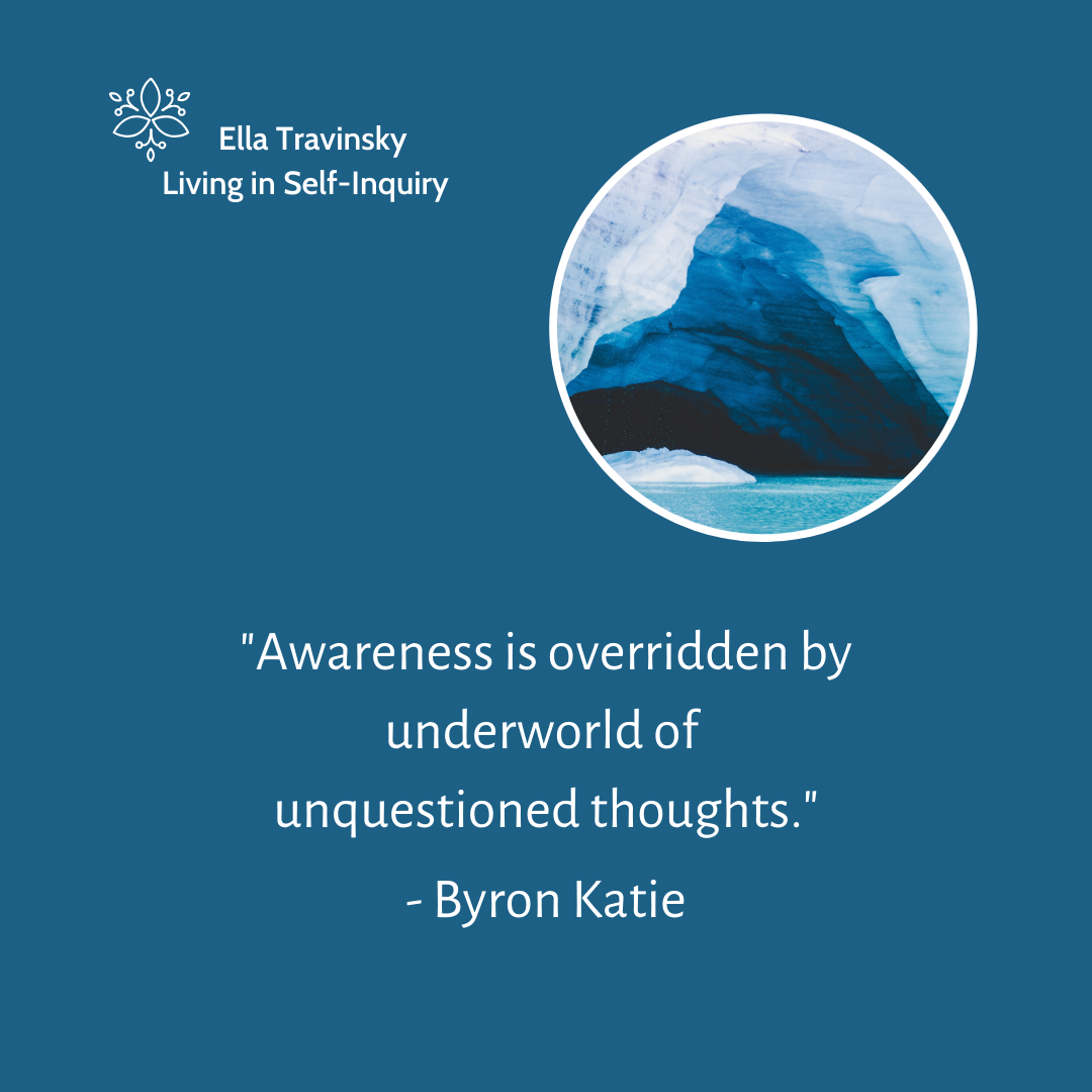 Awareness Is Overridden By Underworld Of Unquestioned