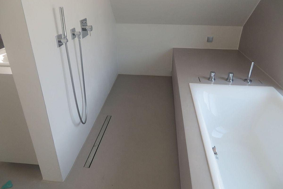 beton cire dusche erfahrungen beton cire dusche beton cire douche castorama beton cire. Black Bedroom Furniture Sets. Home Design Ideas