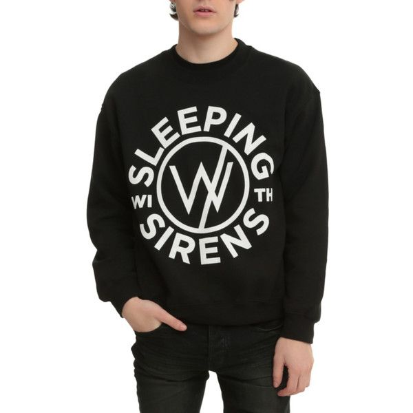Sleeping With Sirens Logo Crew Pullover Hot Topic 25 Liked