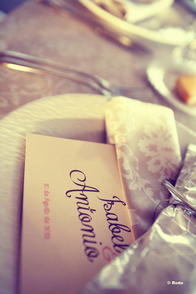 Minuta del Banquete