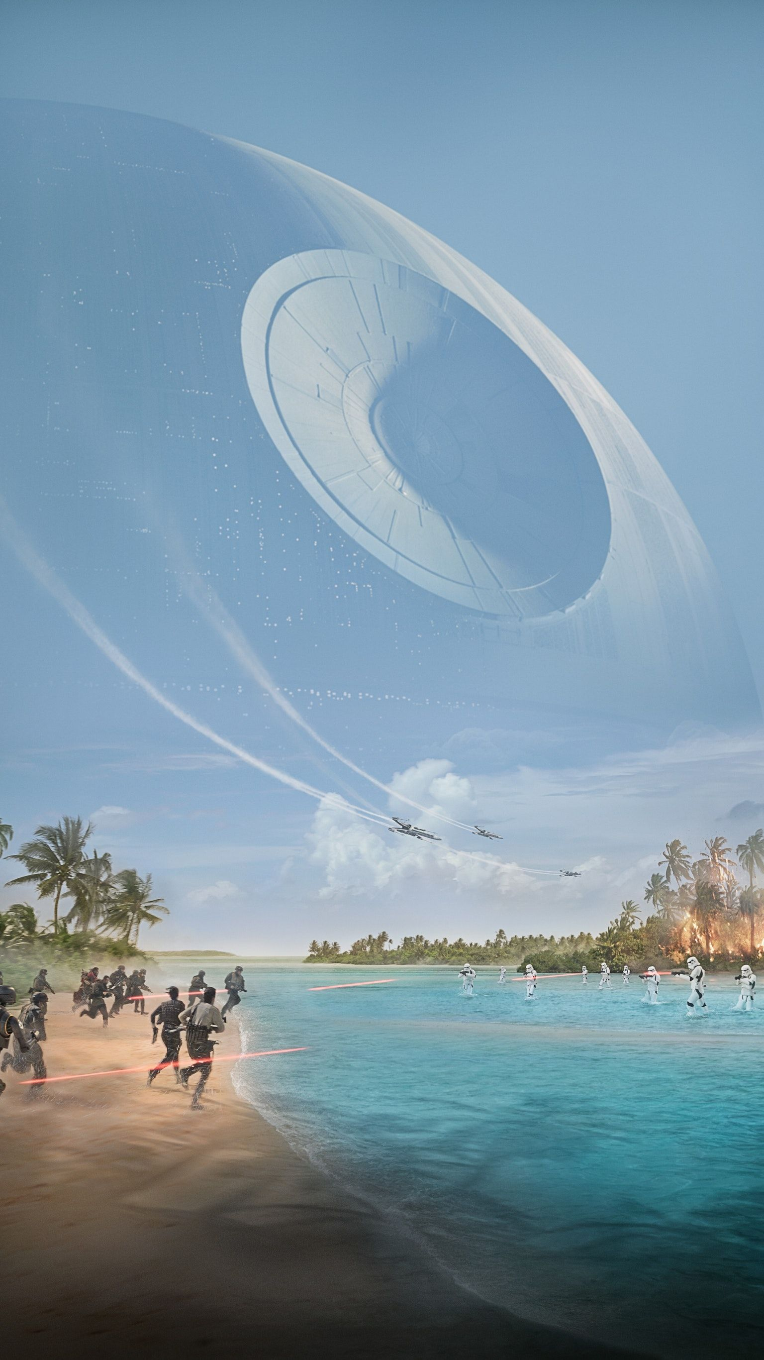 Rogue One A Star Wars Story 2016 Phone Wallpaper Star Wars