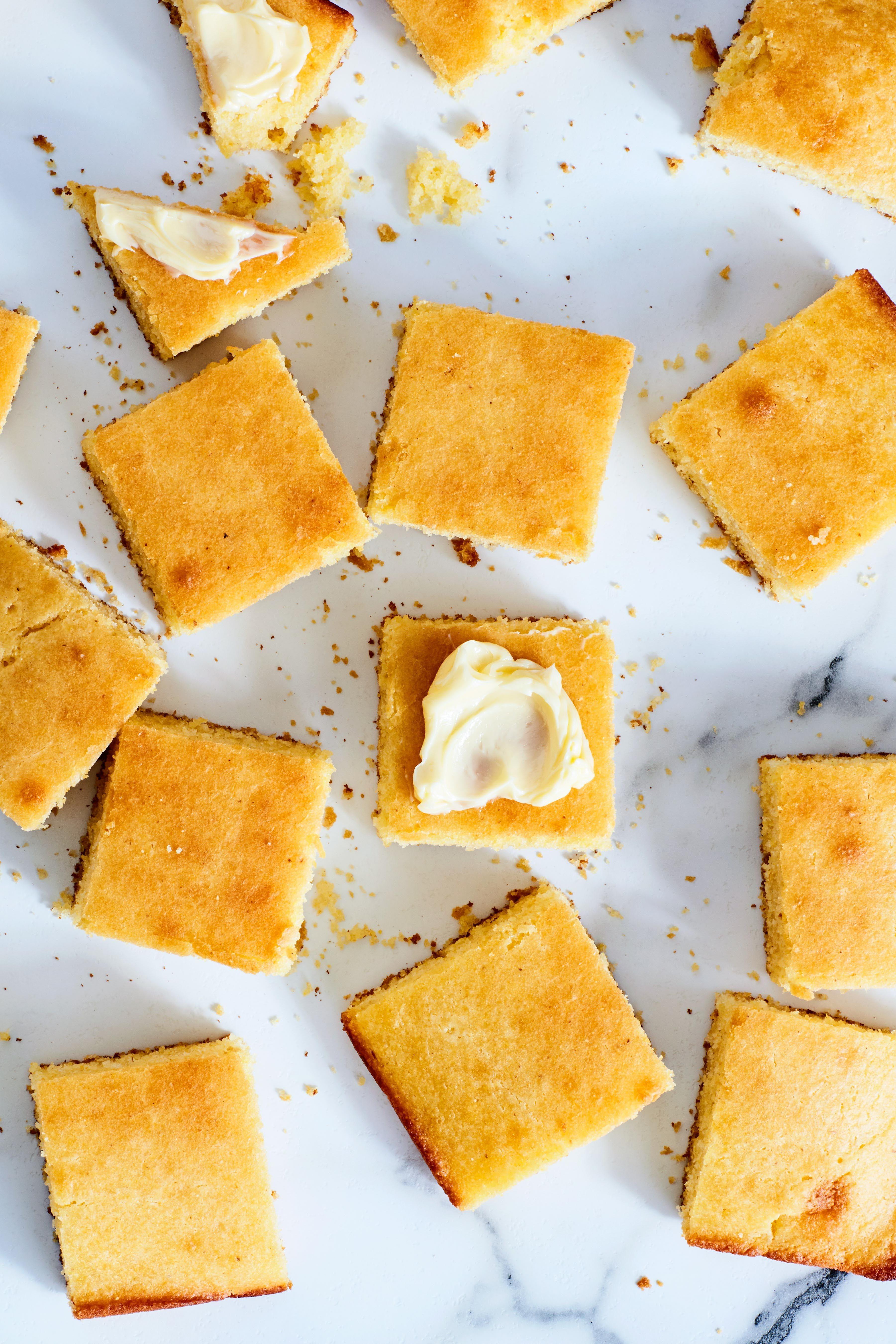 Golden Yellow Corn Bread Or Corn Muffins Recipe Corn Muffins Savoury Baking Cornbread