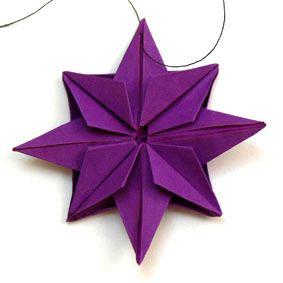 origami stern weihnachten. Black Bedroom Furniture Sets. Home Design Ideas