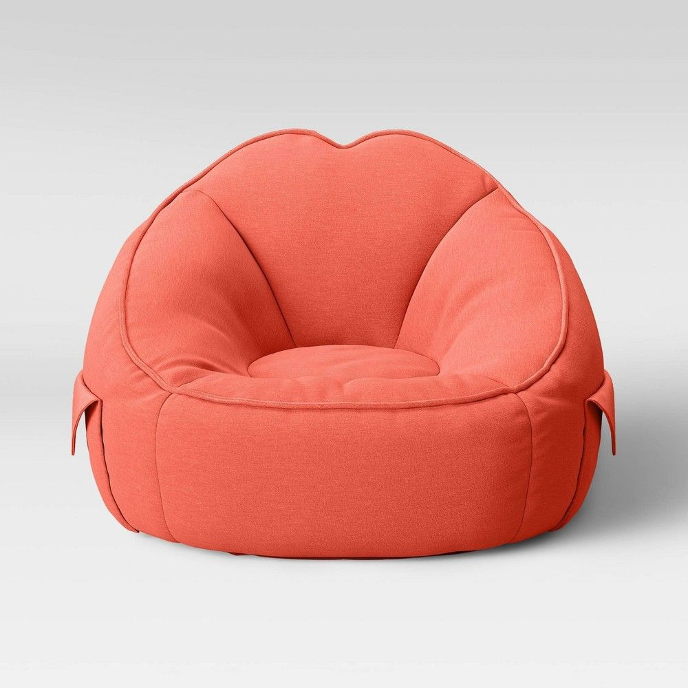 Jersey Bean Bag Chair Fresh Melon - Pillowfort