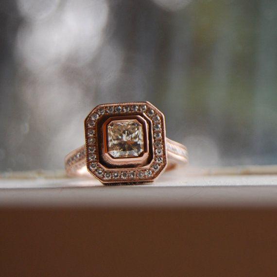 die besten 25 champagnerfarbene diamantringe ideen auf. Black Bedroom Furniture Sets. Home Design Ideas