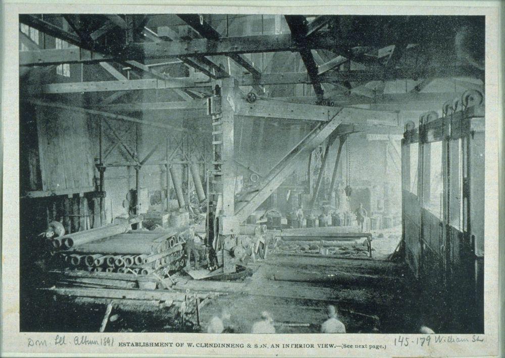 Historypin | Historypin | Les industries de Montréal | Fonderie William Clendinneng & Son
