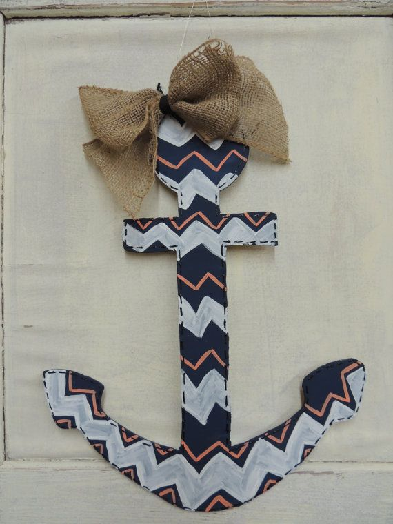 AnchorWooden Door Hanger by DistressedAccents on Etsy, $25.00....hmmmm to buy or to attempt to make?