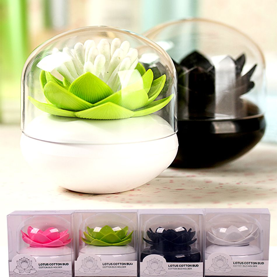 Lotus Zahnstocher Halter Kreative Zahnstocher Box Kunststoff  Aufbewahrungsbox Veranstalter Wattestäbchen Küche Hauptdekorationen  Weihnachtsgeschenk