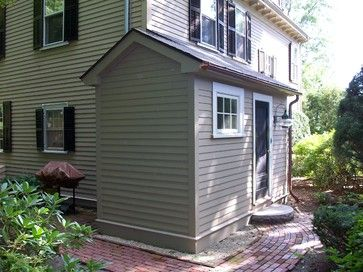 Mudroom Addition Side Traditional Exterior Boston By Cabot Building