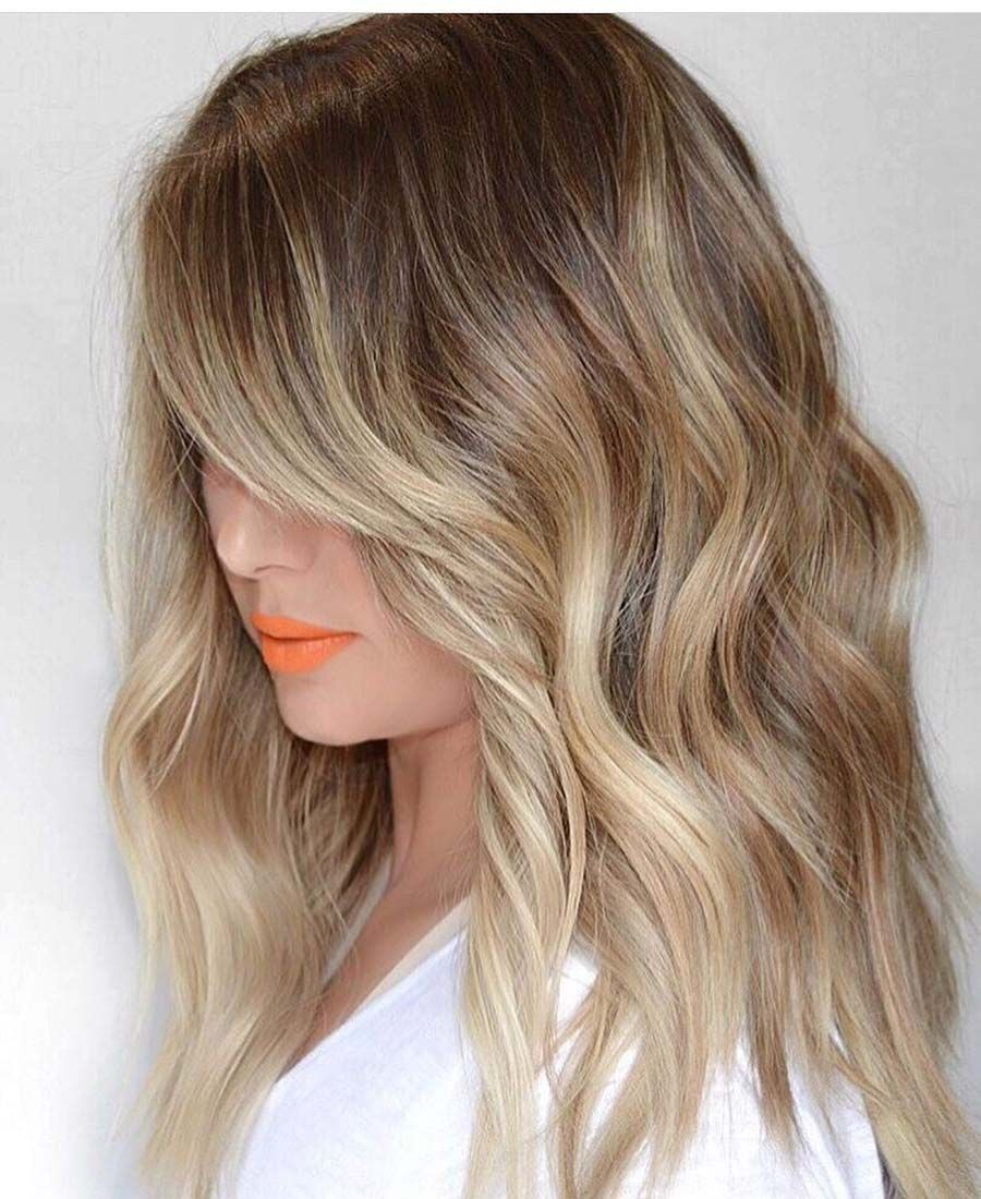 amazing contrast of blonde hair highlights for 2019 | trendy