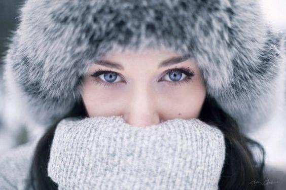 Senior Portrait / Foto / Bild Idee – Mädchen – Winter